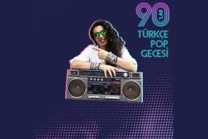 Dj Ali Taş İle 90'lar Türkçe Pop Gecesi Hayal Kahvesi Emaar Konser Bileti