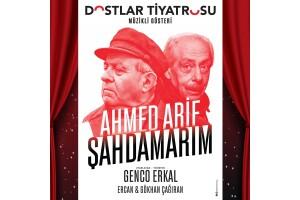 Genco Erkal'ın Sahnelediği 'Ahmed Arif - Şahdamarım' Tiyatro Oyunu Bileti