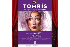 Janset'in Sahnelediği 'Tomris' Tiyatro Oyunu Bileti