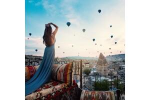 Bölge Buluşmalı 1 Gece 2 Gün Balon Turu Dahil Kapadokya Turu