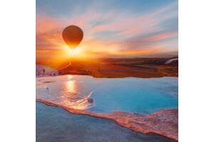 29 Ekim Özel 1 Gece 2 Gün Yarım Pansiyon Konaklamalı Salda Gölü, Pamukkale, Çeşme, Alaçatı Turu
