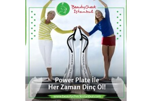 Beauty Check İstanbul'da Bay & Bayanlar İçin Power Plate İle Kas ve Kemik Güçlendirme Paketi