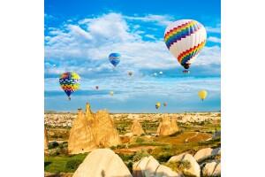 29 Ekim Özel 1 Gece 2 Gün Yarım Pansiyon Balon Turu Dahil Kapadokya Ihlara Vadisi Hacı Bektaş Turu