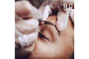 Bella Rosa Estetik & Güzellik Merkezi'nde Kalıcı Makyaj Microblading Uygulaması