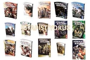 Titana Saldırı Seti 20 Kitap