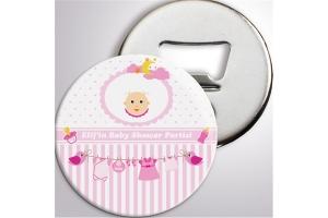 Kişiye Özel Baby Shower Açacaklı Buzdolabı Magnet (10 Adet)