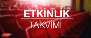 Etkinlik Takvimi İstanbul